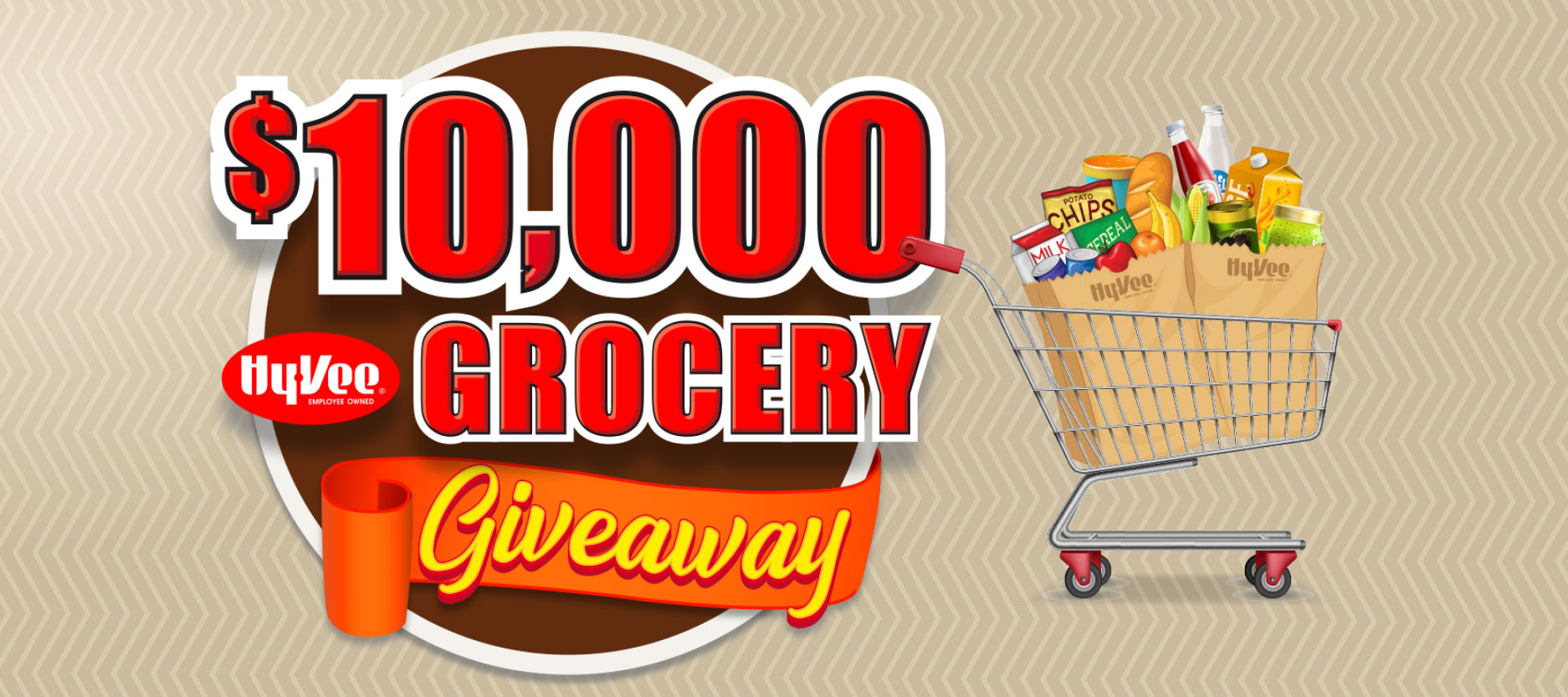 $10,000 Grocery Giveaway