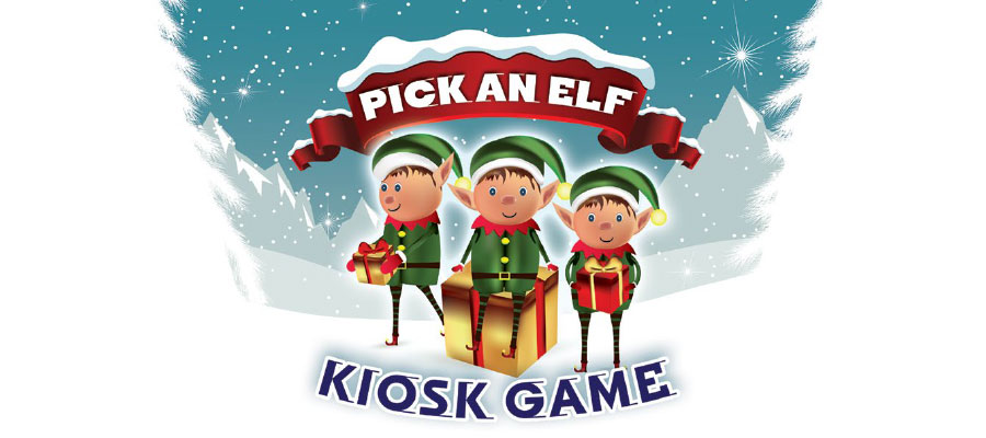 Pick an Elf Kiosk Game
