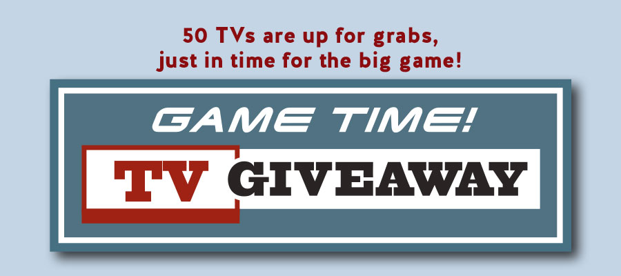 Game Time! TV Giveaway