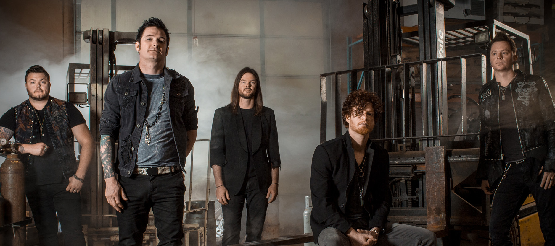 Hinder at the Lakeside Event Center