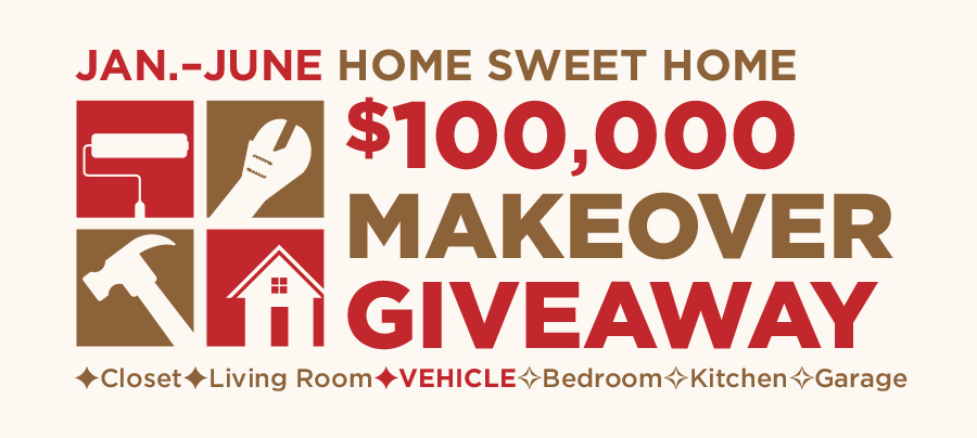 Home Sweet Home $100,000 Makeover Giveaway-Vehicle